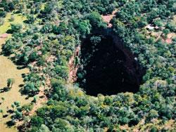 buraco das araras unico lugar do mundo
